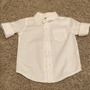 Janie and Jack button down collar shirt